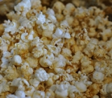 Sweet and Salty Smoked Paprika Popcorn