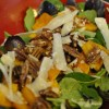 Roasted Butternut Squash Salad with Maple Pecans