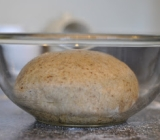 Whole Wheat and Milled Flaxseed Pizza Dough