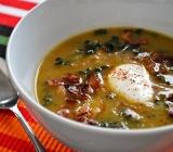Acorn Squash and Kale Soup