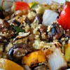 Quinoa with Grilled Veggies