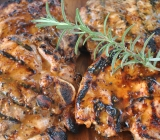 Honey Mustard and Rosemary Pork Chops