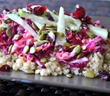 Coleslaw with Beets and Quinoa