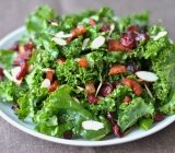 Kale Salad with Pancetta & Balsamic Vinaigrette