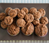 Applesauce, Prune, and Milled Flaxseed Muffins