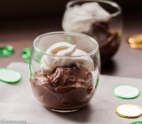Chocolate Pudding with Irish Cream