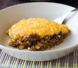 Cottage Pie (Shepherd's Pie) with Celeriac, Sweet Potato Mash