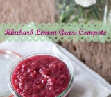 Rhubarb Lemon Grass Compote