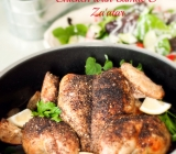Roasted Spatchcocked Chicken with Za'atar and Sumac