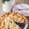 Black Raspberry and Cherry Pie with a Gluten Free Crust