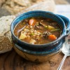Beef, Vegetable, & Whole Buckwheat Soup