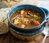 Beef, Vegetable, & Whole Buckwheat Soup