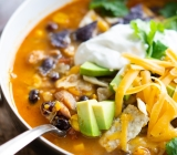 Chicken and Sweet Potato Tortilla Soup