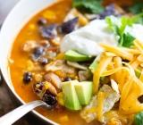 Chicken and Sweet Potato Tortilla Soup