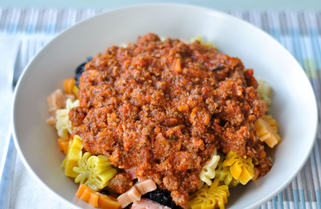 This slow-cooker friendly recipe will become a fast family favourite. Makes a big batch of full of flavour meat sauce.