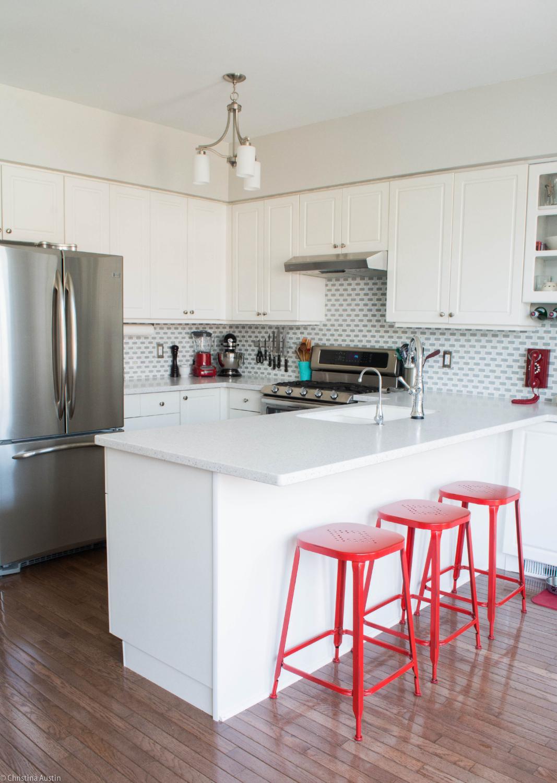 Bright White Kitchen Renovation