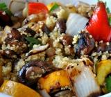 Quinoa with Grilled Veggies