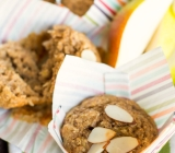 Spiced Pear and Almond Muffins