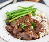 Rich Cocoa, Beef & Mushroom Stew