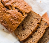 Banana Bread with Prunes & Milled Flaxseed